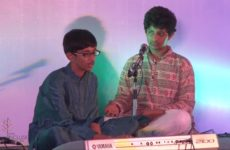 Aditya Venkatesh performing at India Inclusion Summit