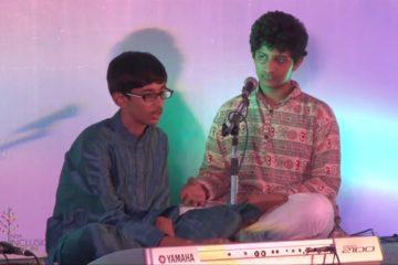 Aditya Venkatesh performing at India Inclusion Summit