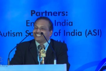 Dipesh Sutariya at India Inclusion Summit 2013