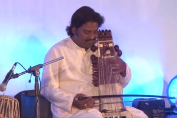 Ustad Faiyaaz Khan and Sarfaraaz, performing at IIS 2013