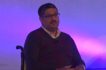 Javed Abidi at India Inclusion Summit 2013
