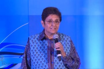 Dr. Kiran Bedi at India Inclusion Summit 2013