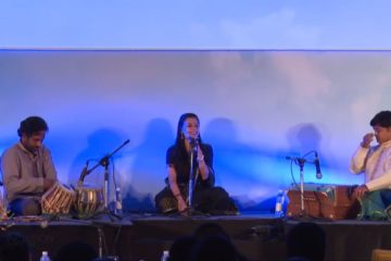 Nirali Karthik performing at India Inclusion Summit 2013