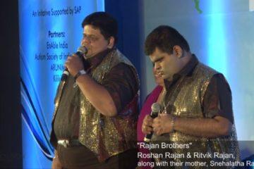 Rajan Brothers @ India Inclusion Summit 2013