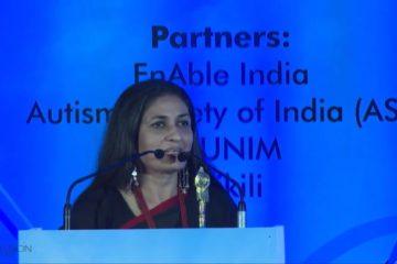 Seema Kohli at India Inclusion Summit 2013