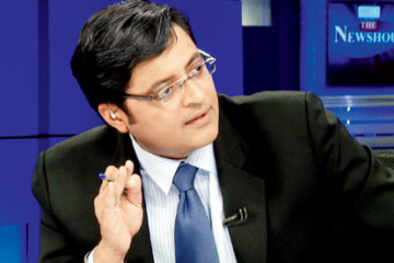 Arnab Goswami, I Will Be Your Voice at IIS 2014