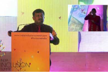 Awanish Kumar Awasthi, Govt. of India Marches towards Inclusion at IIS 2014