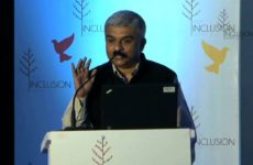 George Abraham at India Inclsuion Summit 2012