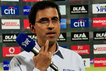 Photo of Harsha Bhogle