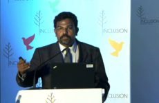 Rabindran Isaac at India Inclusion Summit 2012