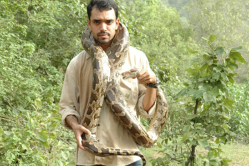 Sanjiv Gohil, Vision Beyond Rescuing Snakes And Climbing Rocks at IIS 2014