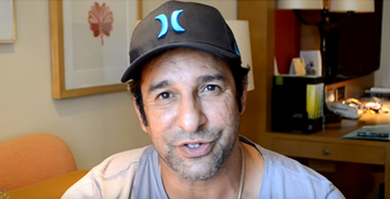 Photo of Wasim Akram