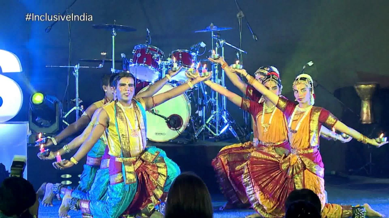 Shri Ramana Maharshi School for Blind, Dance Performance at IIS 2016