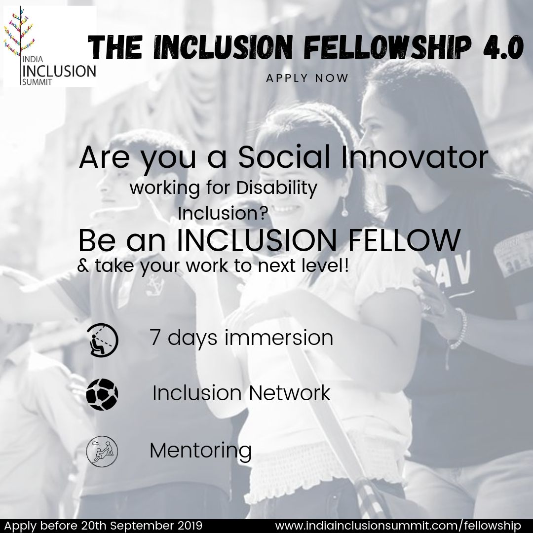 The Inclusion Fellowship 2019