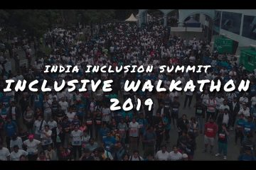 Inclusive Walkathon Bengaluru 2019. <br>5000 Citizens walked for Inclusion.