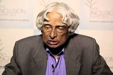 Dr. Kalam at IIS 2013